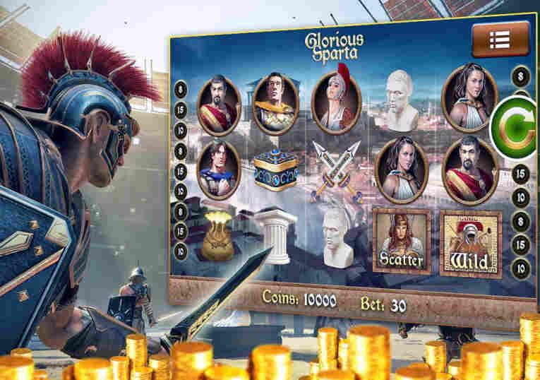 Spartan Slots casino game