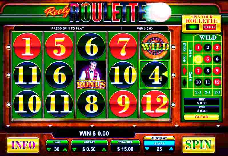 roulette online and slots